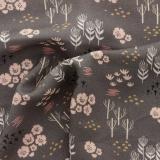 Tissu Dashwood dovestone rayonne 140 cm - 476