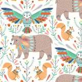 Tissu Dashwood boho meadow 110 cm - 476