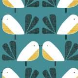 Tissu Dashwood nesting birds - 476