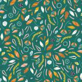 Tissu Dashwood hanging around jade 110 cm - 476