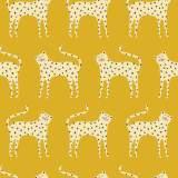Tissu Dashwood ditsies léopard gold - 476