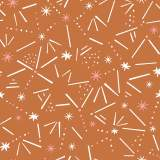 Tissu Dashwood ditsies stars ginger - 476