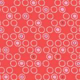 Tissu Dashwood ditsies circles lipstick - 476