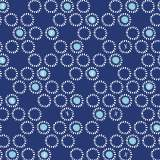 Tissu Dashwood ditsies circles navy 110 cm - 476