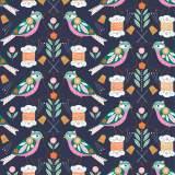 Tissu Dashwood stitch - 476