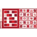Panneau calendrier de l'Avent Dashwood festive ma - 476