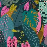 Tissu Dashwood night jungle - 476