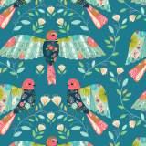 Coupon Dashwood flock 50 x 110cm 100% coton - 476