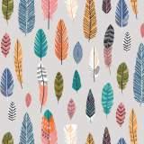 Coupon Dashwood boho meadow 100 x 110cm 100%coton - 476