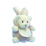 Ziggy doudou ours/lapin taupe 15cm - 485