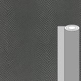 Coupon tissu simili cuir iguane gris 50 x 69 cm - 488