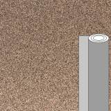 Coupon tissu pailleté marron 50 x 69 cm - 488