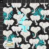 Tissu Stof Fabrics Wild with the wild - 489