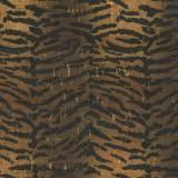 Tissu liège Stof impression animal + doré - 489