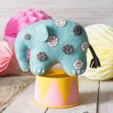 Kit feutrine éléphant bleu - 490