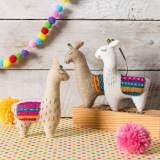 Kit feutrine les trois lamas - 490