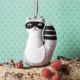 Mini kit feutrine raccoon - 490
