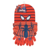 Bonnet + snood + gants Spiderman - 491