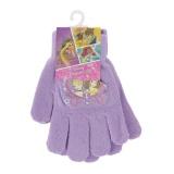 """Gant """"princesses"""" - violet - taille unique - 491"""