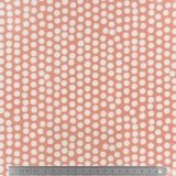 Tissu enduit Fryett's spotty orange - 492