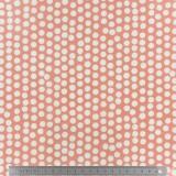 Tissu enduit Fryett's spotty orange 137cm - 492