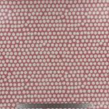 Tissu enduit Fryett's spotty blush - 492