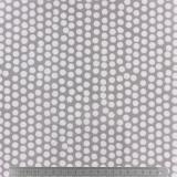 Tissu enduit Fryett's spotty grey - 492