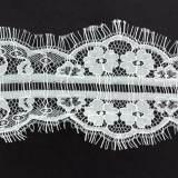 Bande nylon 9cm blanc - 493