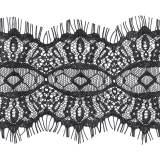 Bande nylon 8 cm noir - 493
