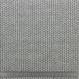 Tissu glam gots, gris cl fd noir,lurex 150cm - 495