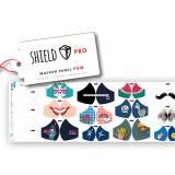 Panneaux jersey pour masques enfant et adulte - 495