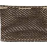 Ruban lin fil marron 40 mm - 496