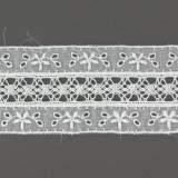 Dentelle et broderie anglaise 47 mm 100% coton - 497