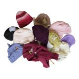 Lot de 5 bonnets bébé fille - 50