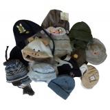 Lot de 5 bonnets bébé garçon - 50