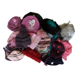 Lot de 5 bonnets fille - 50