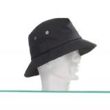 Chapeau coton huilé mixte t.58 noir - 50