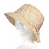 Chapeau cloche paille naturel TU - 50