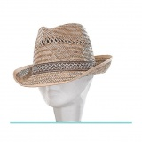 Chapeau mixte paille t59 - 50