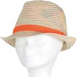 Chapeau enfant paille orange t.53 - 50