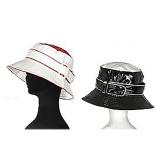 Chapeau de pluie cloche bicolore-lot de 2- - 50