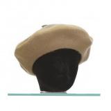 Béret f. - 90% laine t.u camel - 50