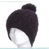 Bonnet edelweiss 100% acryl t.u noir - 50