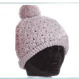 Bonnet edelweiss 100% acryl t.u beige - 50