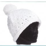 Bonnet edelweiss 100% acryl t.u écru - 50