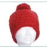 Bonnet edelweiss 100% acryl t.u rouge - 50