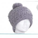 Bonnet edelweiss 100% acryl t.u gris - 50