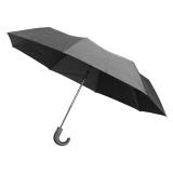 Parapluie pliant automatique manche canne noir - 50