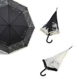 Parapluie canne auto.polyester lot de 3 - 50