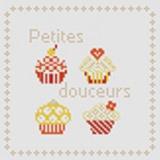 Tableau petites douceurs (avec perles or) - 55